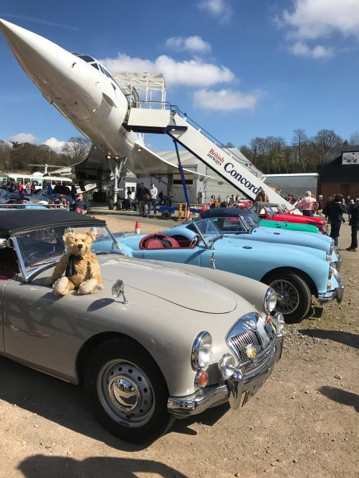 Brooklands: Those beautiful MGAs.