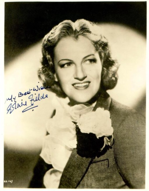 Aspidistra: Gracie Fields.