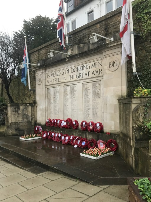 Private Evan Davies: In Memory of Dorking Men who Fell in The Great War.