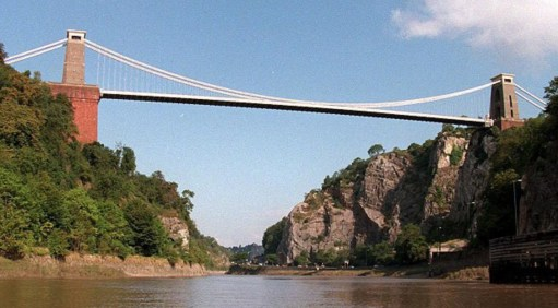 Small Talk Saves lives: Clifton Suspension Bridge.
