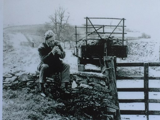 Cotswold Granny: Frank Mansell. Poet.