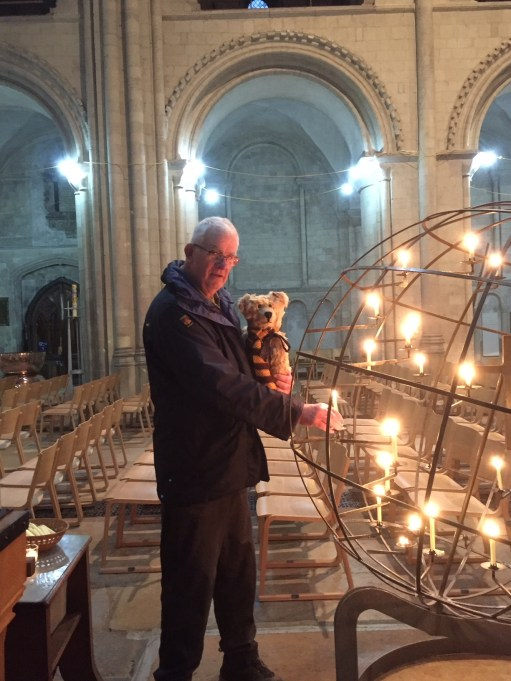 I Died Today: Lighting a Candle to Diddley in Norwich Cathedral.