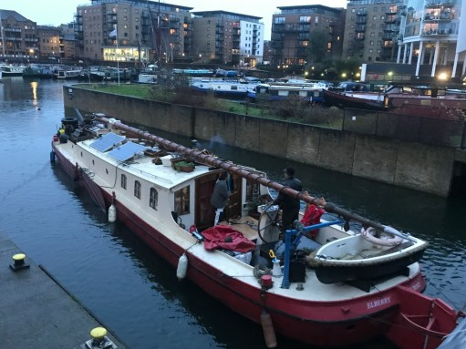 Bobby's Girl: Entering Limehouse Basin.