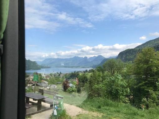 Salzburg: On we went, through glorious mountain countryside to...