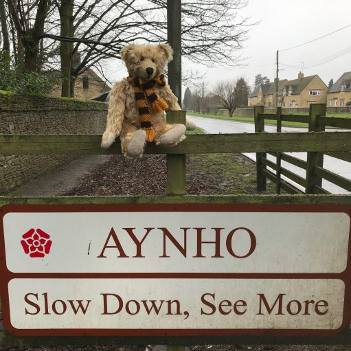Apricot Village: Aynho: Slow Down, See More.