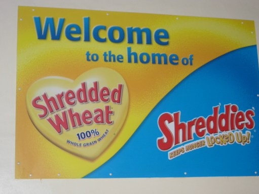 Shredded Wheat: The Welcoming Sign.