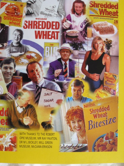 Shredded Wheat: Some famous faces.