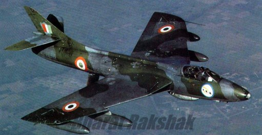 Trevor's Stickies: Indian Air Force Hawker Hunter. Britain's most successful fighter jet. Sold all over the world.