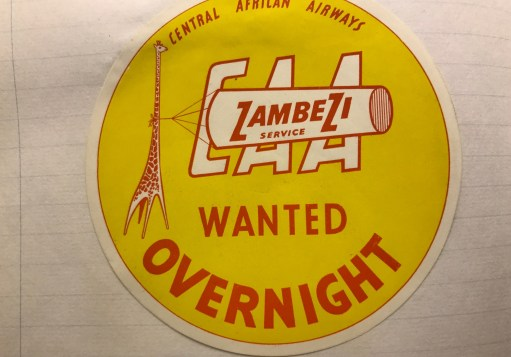 "Trevor's Stickies: CAA ""Wanted Overnight""."