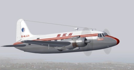 Trevor's Stickies: Early days Viking airliner.