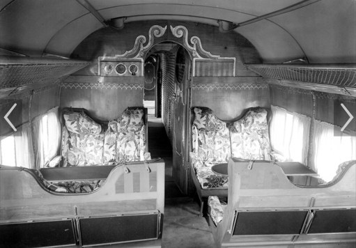 Croydon Airport: Interior of HP42. A little different to Ryanair. But very expensive and just 100 miles per hour.
