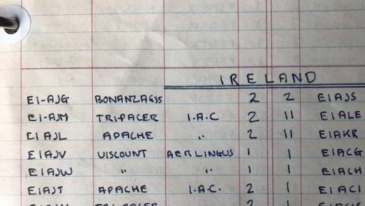 Beech Bonanza. Irish registration. No 2 code for Croydon Airport. 1957.