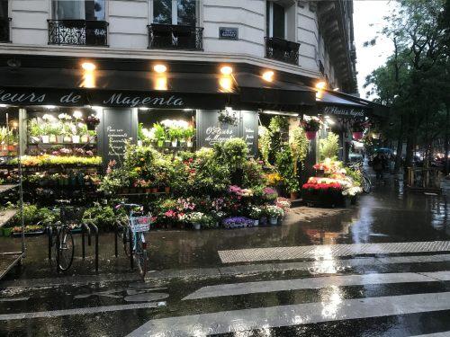 Paris: Florist Shop.