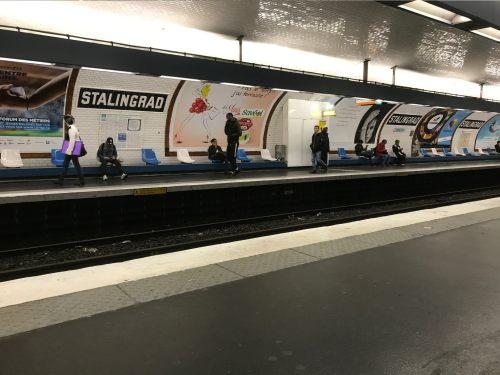 Paris: Stalingrad … Named after the Battle of Stalingrad.