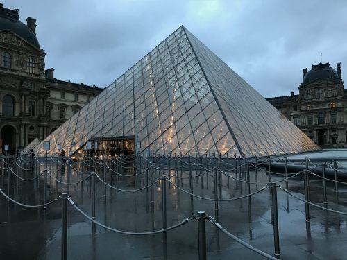 Paris: The Louvre.