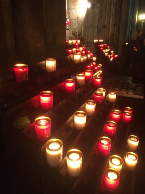 Lighting a Candle for Diddley: In Paris in Notre Dame