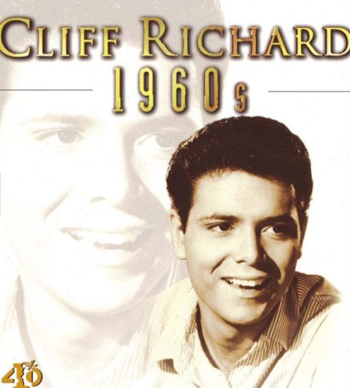 Sir Cliff Richard: 1960s Compilation Album cover.