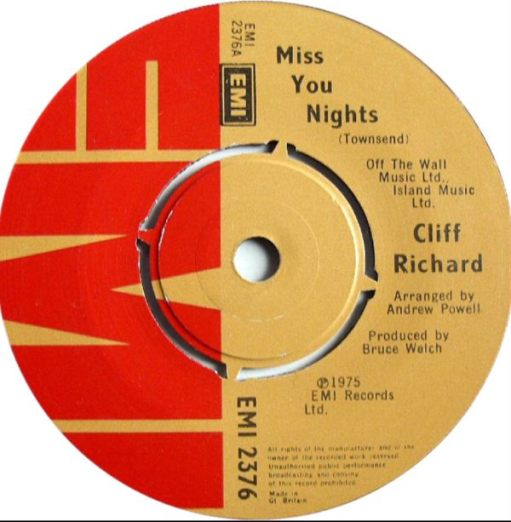 """Sir Cliff Richard: """"Miss You Nights"""" a Fairfield Hall favourite:"""