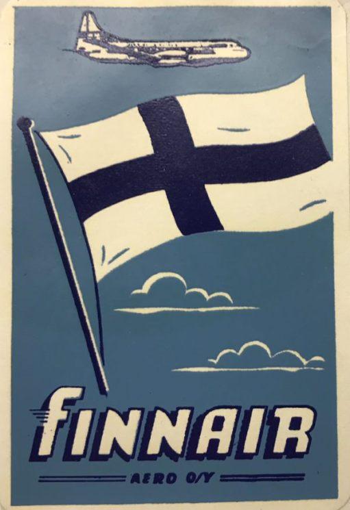 Trevor and Henry: Finnair. Finland