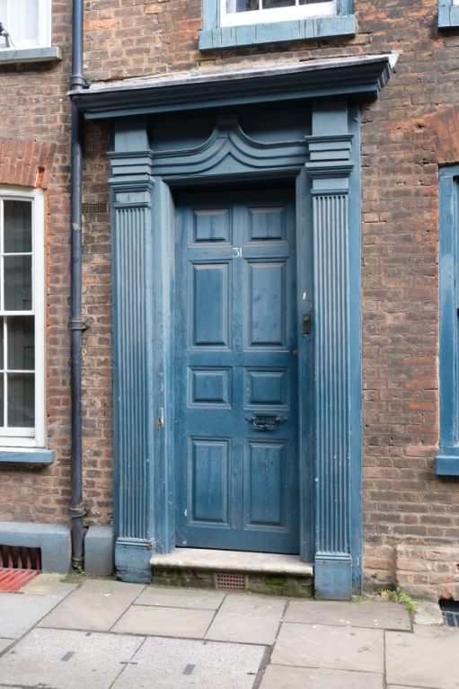 31 Fournier Street. I wonder what is going on behind that front door?