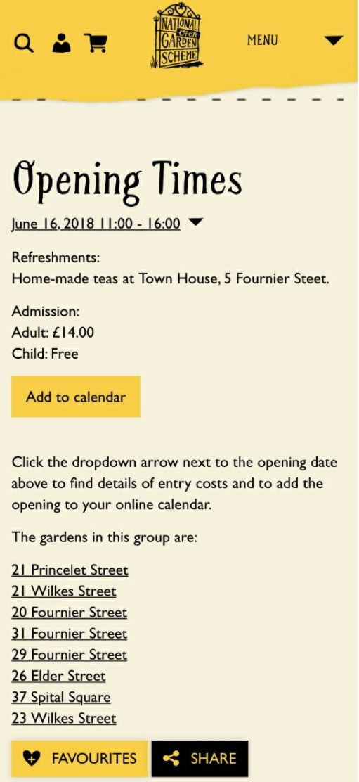 31 Fournier Street: Details of this year's Open Gardens.
