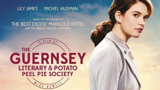Good Thinking: The Guernsey Literary & Potato Peel Pie Society film poster.