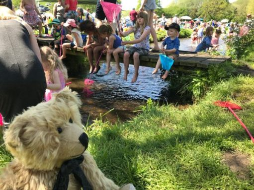 "Teddy Bears' Picnic: ""Wouldn't fancy being a stickleback today!"""