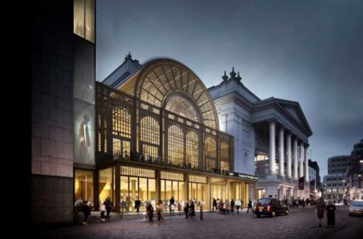 The ballet: The Royal Opera House, Covent Garden.