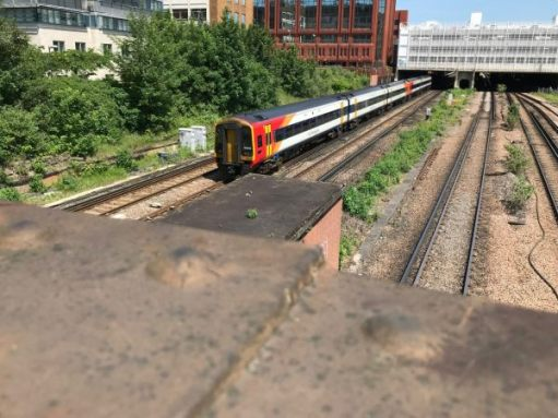 The Footbridge: Diesel power for further afield - like Exeter.
