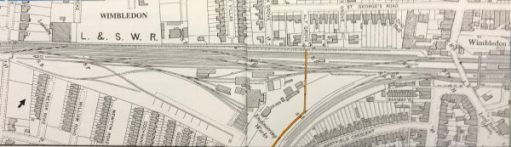 The Footbridge: The bridge and footpath in 1898. More detail would be for a more nerdy blog.