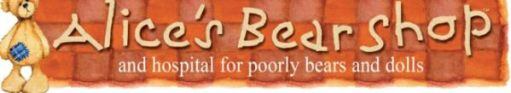 Missed Your Bertie: Alice's Bear Shop and Hospital for poorly bears and dolls.