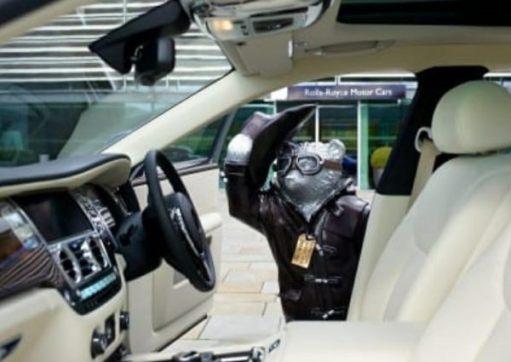 Rolls-Royce: Nice Interior.