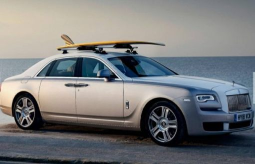 Rolls-Royce: Just right. Full of sand...