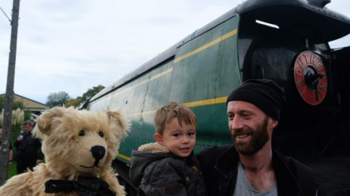 From a Railway Carriage: Bertie. Jay (junior), Jay (senior).