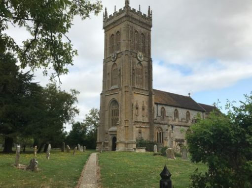 Great Dorset Steam Fair: Lighting a Candle for Diddley - The Church of St Martin, Kingsbury Episcopi, Somerset.