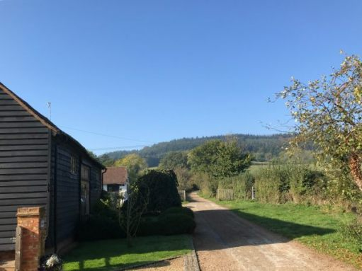 Over the Hills and Far Away: Folly Farm, now barn conversions.