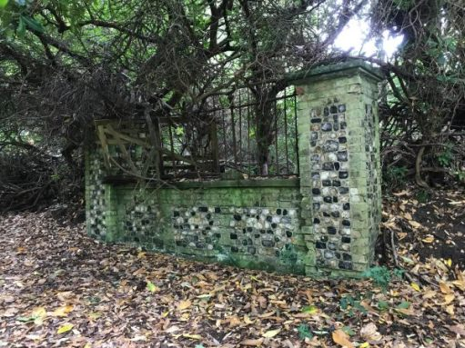 Over the Hills and Far Away: A remnant of the Bury Hill Estate.