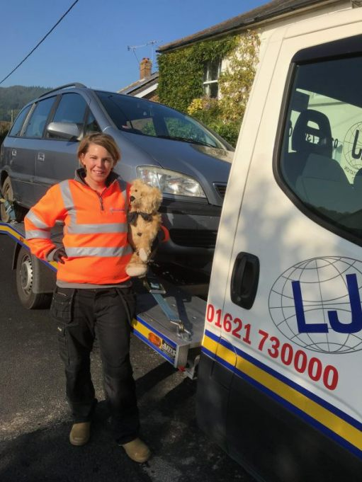 Over the Hills aand Far Away: The lovely Lisa. Loves her job. Meets lovely people. Like us!