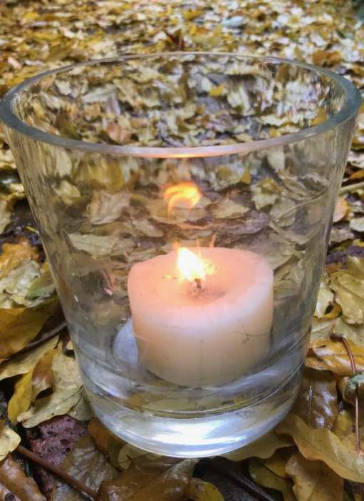 Autumn Leaves: Lighting a candle for Diddley.