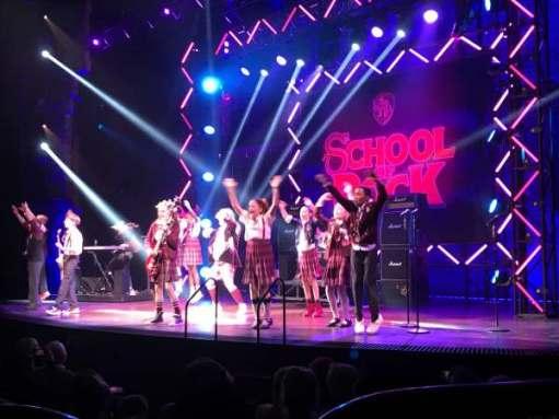 Christmas: School of Rock, New London Theatre.