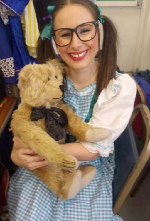 Goldilocks and the Three Bears: Penelope Zeedotes. Mayor Zeedotes' daughter. (Josie, with a giggle).