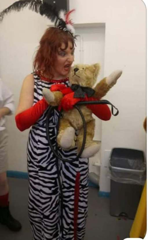 Goldilocks and the Three Bears: Boo, hiss! Baroness Von Trappem (Charlotte). Boo. Hiss.