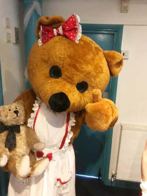 Goldilocks and the Three Bears: Mother Bear (Melanie, body... Damone, voice).