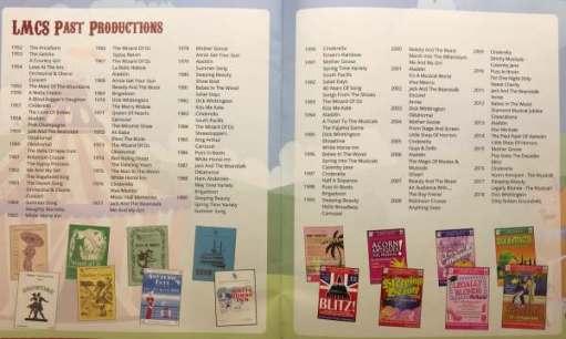 Goldilocks and the Three Bears: LMCS list of productions since 1952.