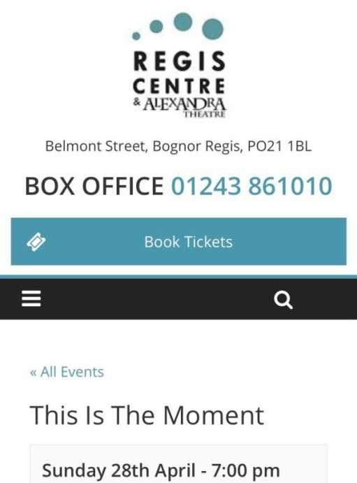 Box Office Details.