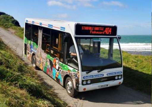 "Walk from St David's: The ""Strumble Shuttle""."
