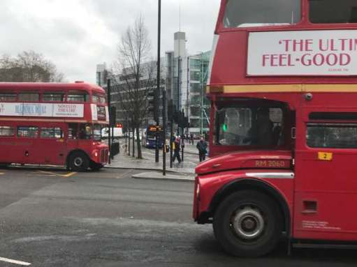 Routemaster: Another twosome.