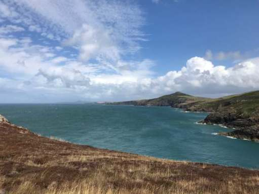 Tick tock. Fall in love with the beautiful world. Pembrokeshire, Whitesands Bay.