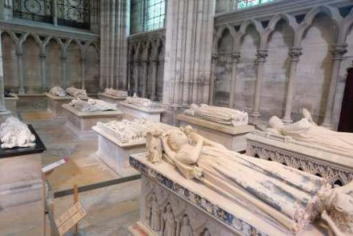April in Paris: Graves in the Basilica of Saint-Denis.