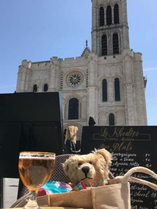 April in Paris: Nice day at St Denis.